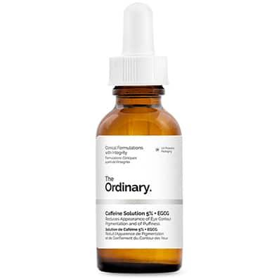 The Ordinary Caffeine Solution 5% + EGCG | Contorno de Ojos