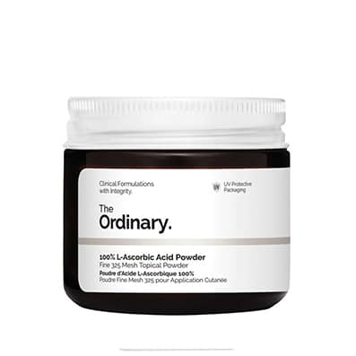 100% L-Ascorbic Acid Powder | Vitamina C en polvo The Ordinary