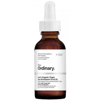 Organic Virgin Sea Buckthorn Fruit Oil | Aceite Orgánico de Fruta de Espino Cerval de Mar The Ordinary