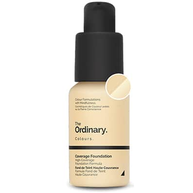 Base de maquillaje Coverage Foundation COLOR 1.2 YG The Ordinary